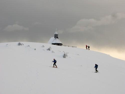 Zima je na planini še posebno pravljična